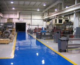 Concrete Floor - Manufacture concrete repaired floor