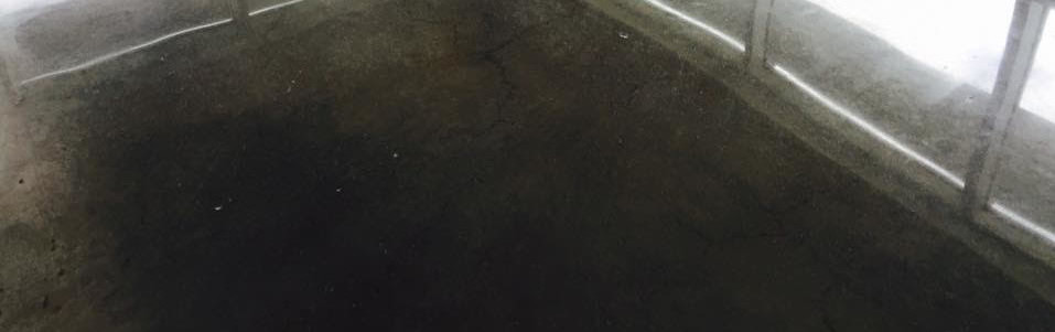 Polished Concrete Floor - Crack Repair